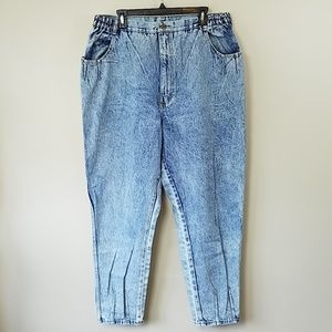 Vintage 80s PS Gitano Acid Wash High Waist Jeans